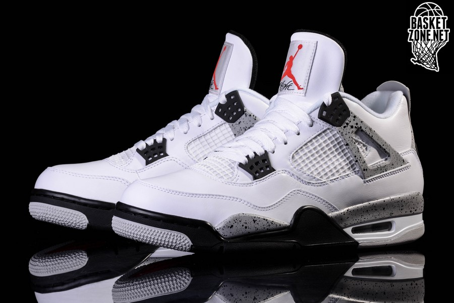 buy popular 2541e ade08 NIKE AIR JORDAN 4 RETRO OG  WHITE CEMENT