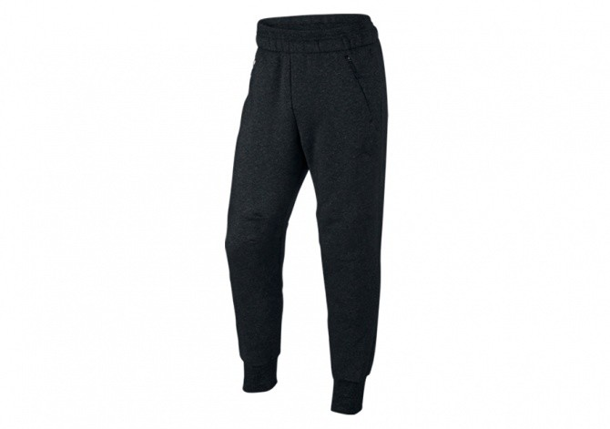 NIKE AIR JORDAN ICON FLEECE PANT BLACK