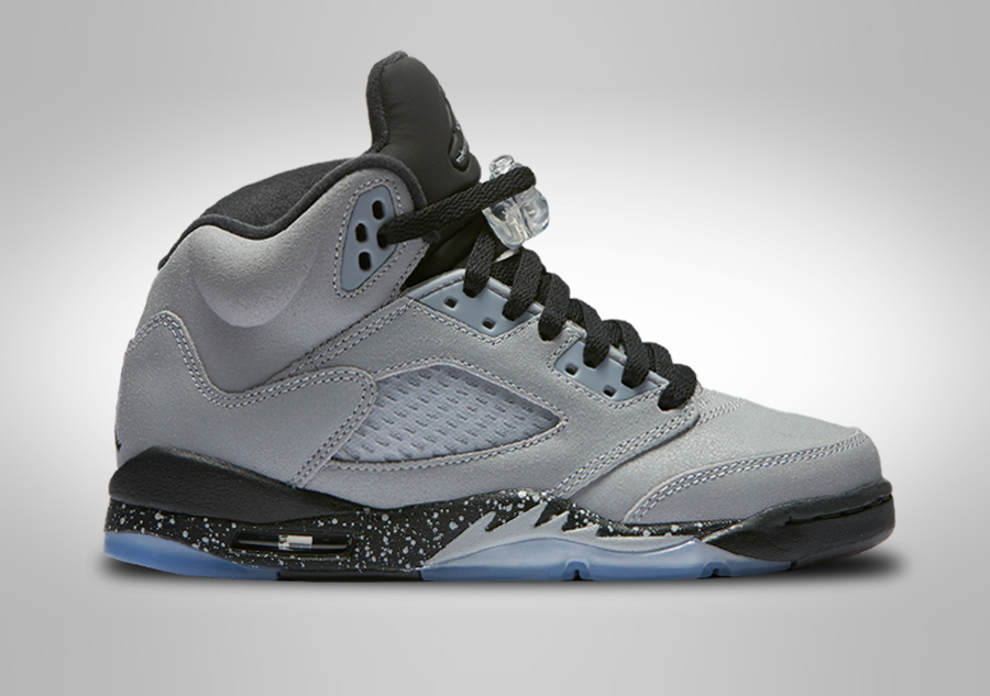 new product cfe55 94a47 NIKE AIR JORDAN 5 RETRO GG WOLF GREY (SMALLER SIZE) voor €122,50    Basketzone.net