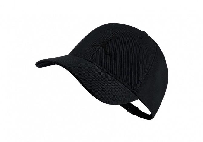 NIKE AIR JORDAN JUMPMAN FLOPPY H86 HAT BLACK