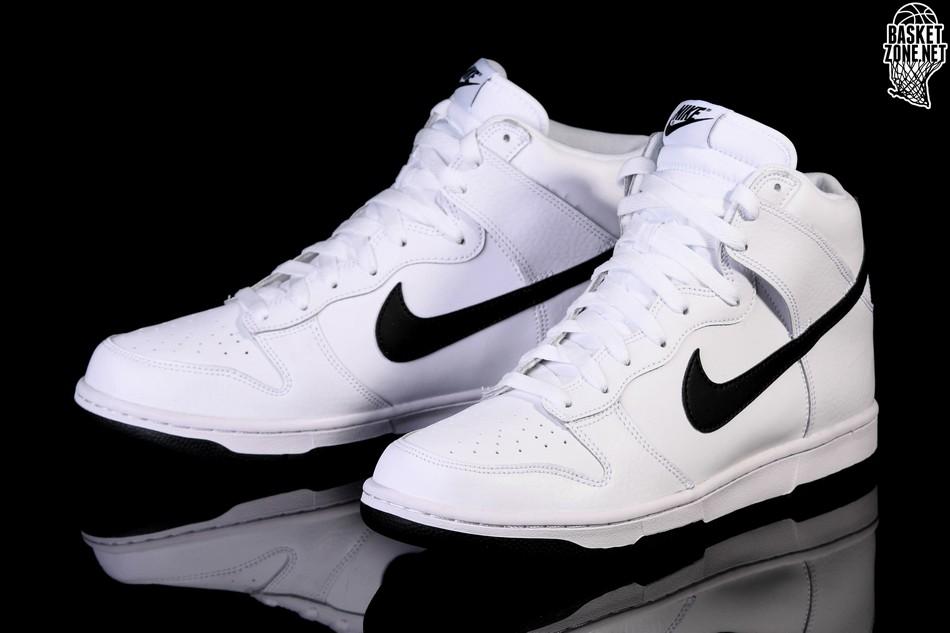 purchase cheap ce7c8 ef882 NIKE DUNK HIGH WHITE BLACK price 309.00₪ | Basketzone.net