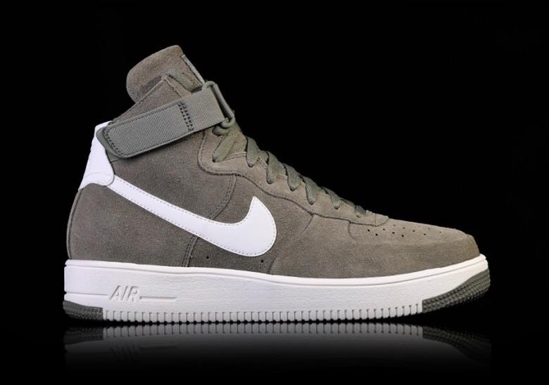 Nike Air Force 1 Downtown High Summit White Black