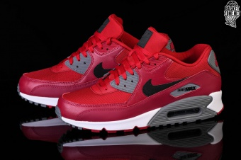 detailed look d1dc0 75f04 NIKE AIR MAX 90 ESSENTIAL GYM RED. 537384-606