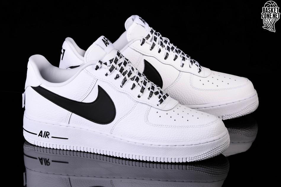 sports shoes 62d23 f1cca NIKE AIR FORCE 1 '07 LV8 NBA PACK WHITE BLACK