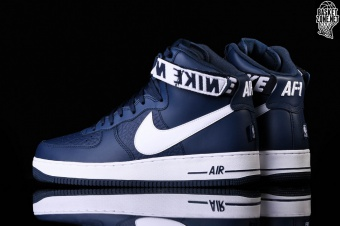first rate 3a253 f2d4f NIKE AIR FORCE 1 HIGH 07 NBA COLLEGE NAVY. 315121-414