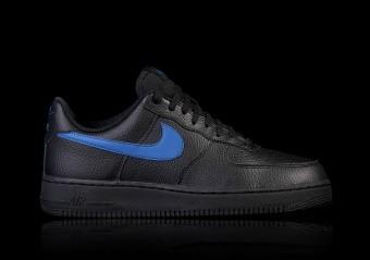 NIKE AIR FORCE 1 '07 BLACK BLUE