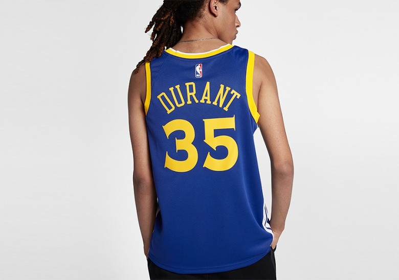 new product 741a5 f4bad NIKE NBA GOLDEN STATE WARRIORS KEVIN DURANT SWINGMAN JERSEY ...