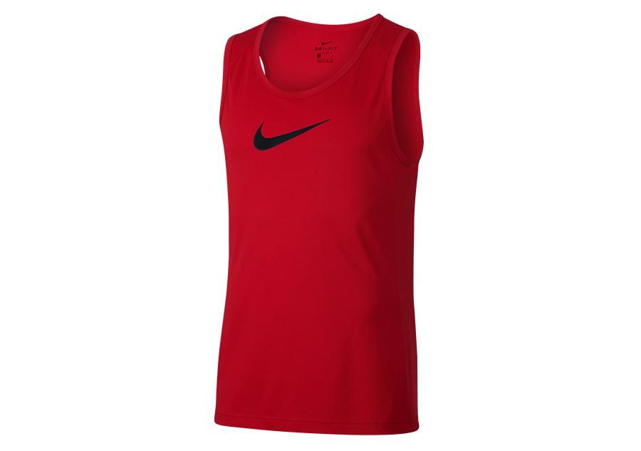 University Nike Basketball Por Dry Red Top wrrt4Cq
