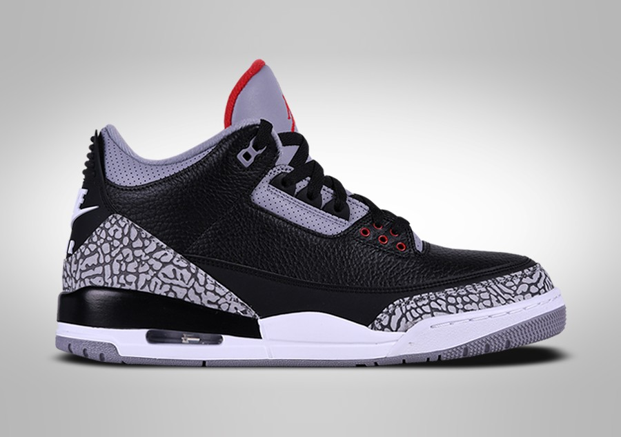 882430db4c13 NIKE AIR JORDAN 3 RETRO BLACK CEMENT per €232