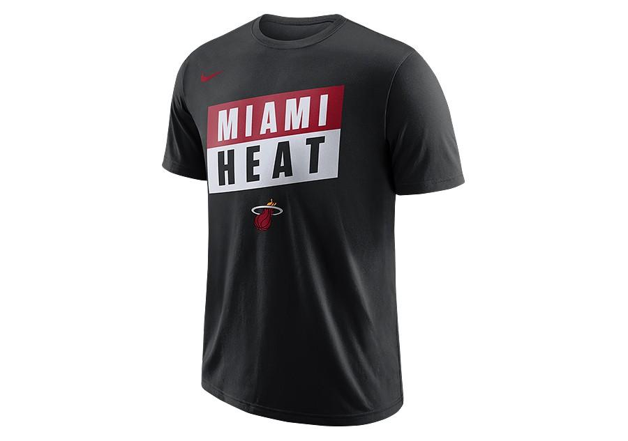 half off 007ac 8452f NIKE NBA MIAMI HEAT DRY TEE BLACK price €27.50 | Basketzone.net