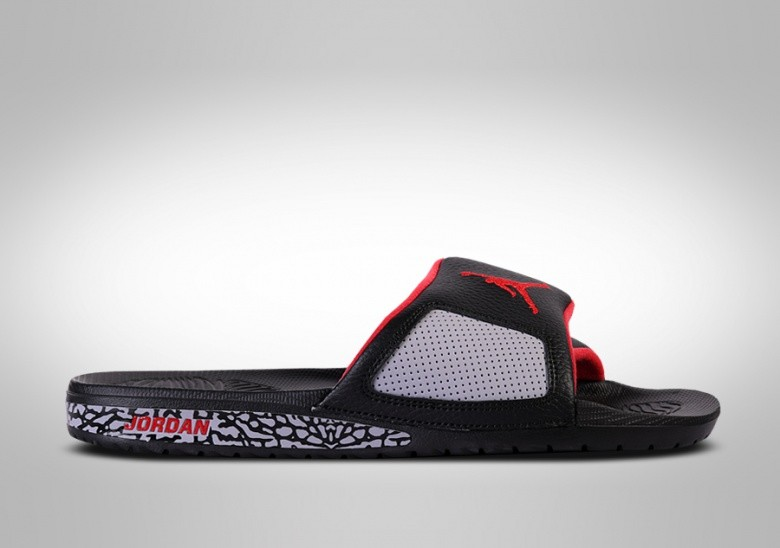 NIKE AIR JORDAN HYDRO SLIDE III RETRO BLACK CEMENT