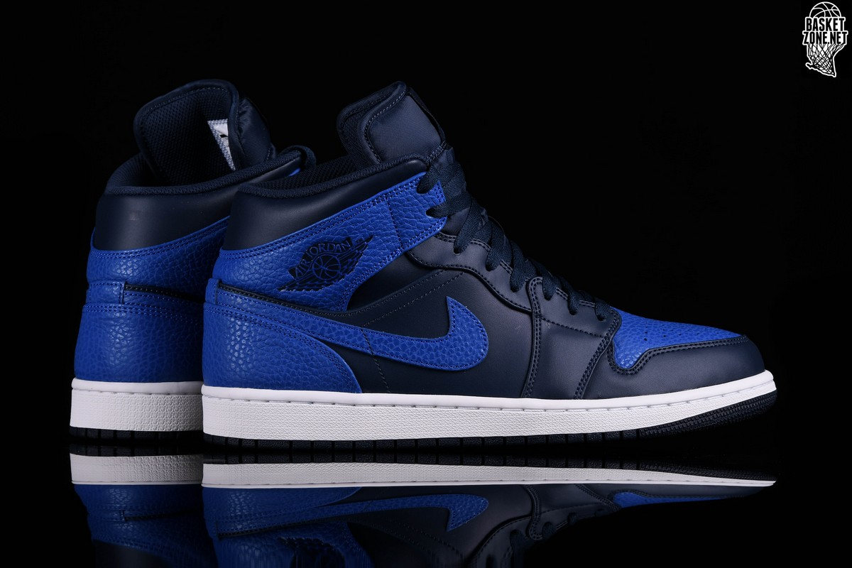 NIKE AIR JORDAN 1 RETRO MID OBSIDIAN ROYAL price €99.00  bc546aa7fc12