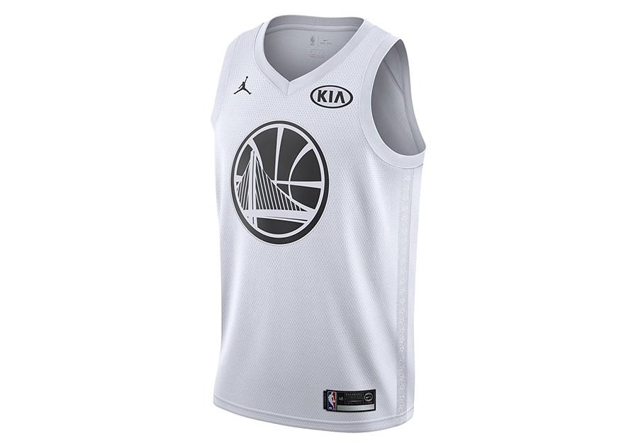 best service ab400 7395f NIKE AIR JORDAN NBA KEVIN DURANT ALL-STAR 2018 SWINGMAN JERSEY WHITE