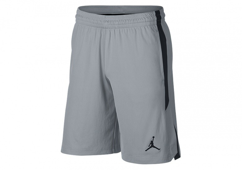 NIKE AIR JORDAN DRY-FIT 23 ALPHA KNIT TRAINING SHORTS WOLF GREY