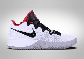 NIKE KYRIE FLYTRAP WHITE BLACK UNIVERSITY RED