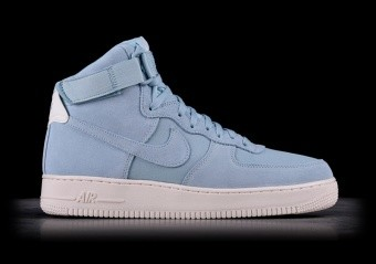 NIKE AIR FORCE 1 HIGH '07 SUEDE OCEAN BLISS