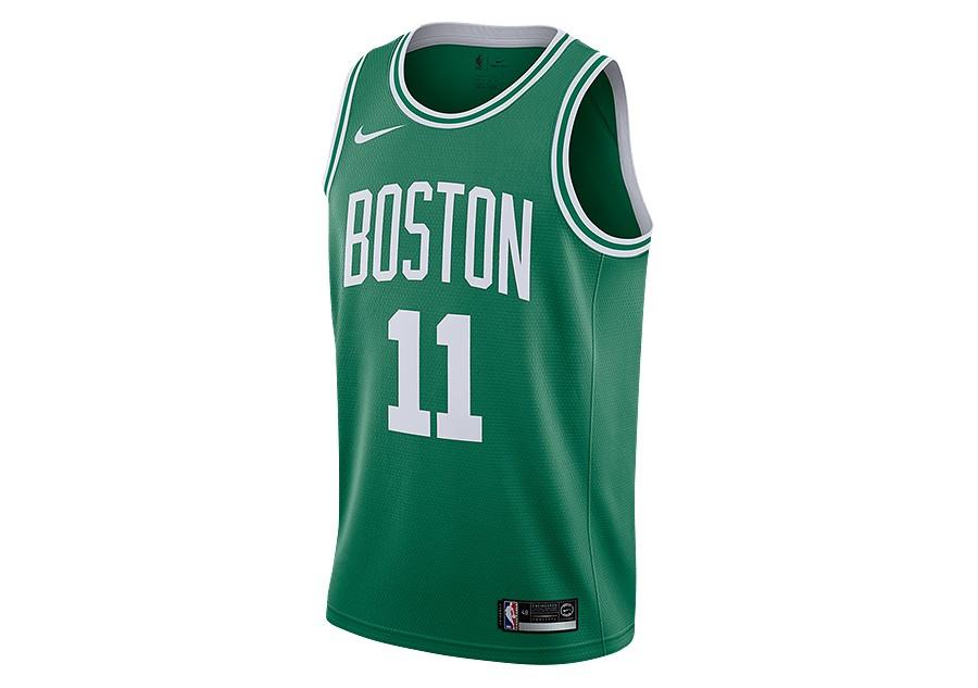 aa8107864 NIKE NBA BOSTON CELTICS KYRIE IRVING ROAD SWINGMAN JERSEY CLOVER per ...