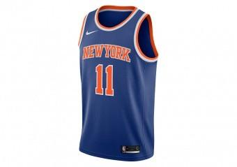 8d216680585f NIKE NBA NEW YORK KNICKS FRANK NTILIKINA SWINGMAN ROAD JERSEY RUSH BLUE