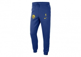 NIKE NBA GOLDEN STATE WARRIORS COURTSIDE PANT RUSH BLUE