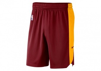 NIKE NBA CLEVELAND CAVALIERS PRACTICE SHORTS TEAM RED