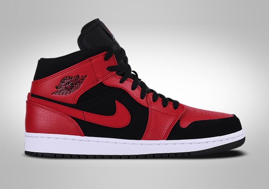 low priced fe053 82781 NIKE AIR JORDAN 1 RETRO MID BRED voor €109,00 | Basketzone.net