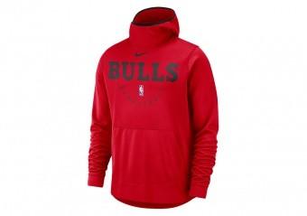 NIKE NBA CHICAGO BULLS SPOTLIGHT HOODIE UNIVERSITY RED