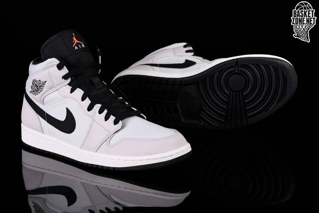 sports shoes ee983 4f07b NIKE AIR JORDAN 1 RETRO MID PREMIUM COOL GREY. 852542-002