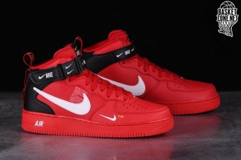 NIKE AIR FORCE 1 MID  07 LV8 UTILITY RED price €127.50  98644ec8a