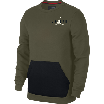 AIR JORDAN SPORTSWEAR JUMPMAN AIR FLEECE CREW