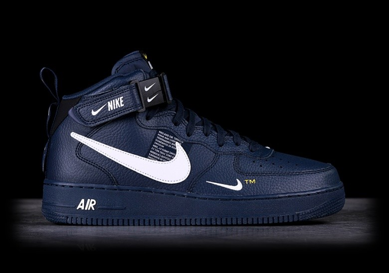 9f38c719965 NIKE AIR FORCE 1 MID '07 LV8 OBSIDIAN voor €117,50 | Basketzone.net