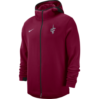 NIKE NBA CLEVELAND CAVALIERS DRY SHOWTIME HOODIE