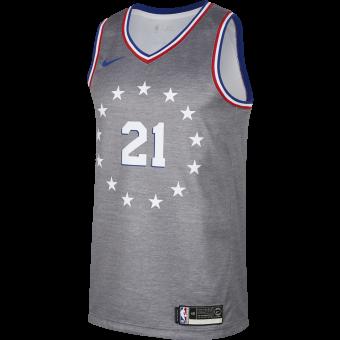 NIKE NBA PHILADELPHIA 76ERS JOEL EMBIID SWINGMAN JERSEY