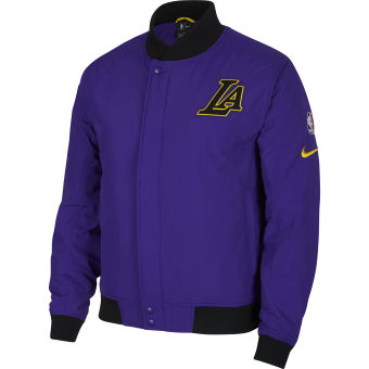 NIKE NBA LOS ANGELES LAKERS COURTSIDE JACKET
