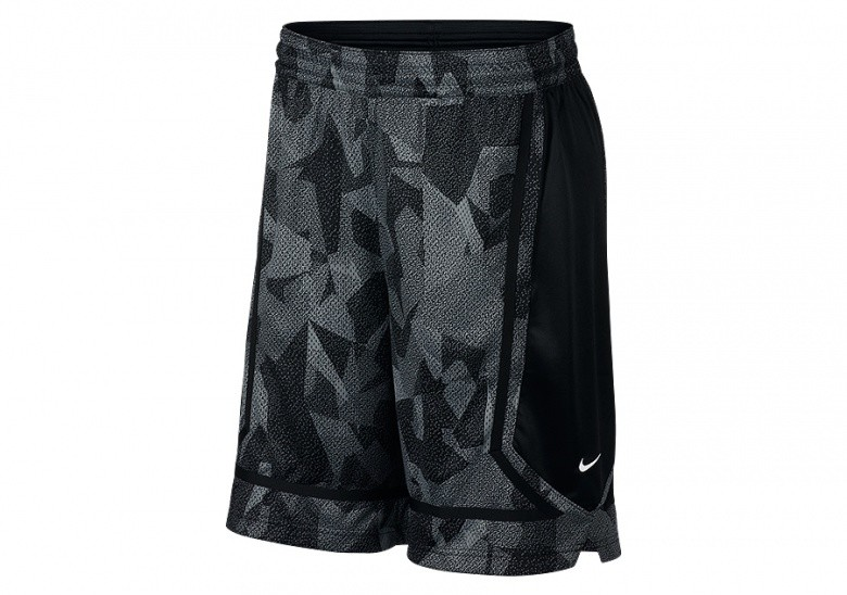 NIKE KYRIE DRY ELITE SHORTS ANTHRACITE