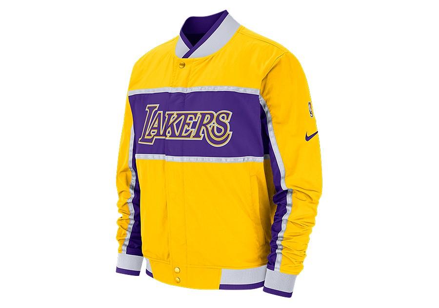fc2668e92 NIKE NBA LOS ANGELES LAKERS COURTSIDE ICON JACKET AMARILLO pour €152 ...