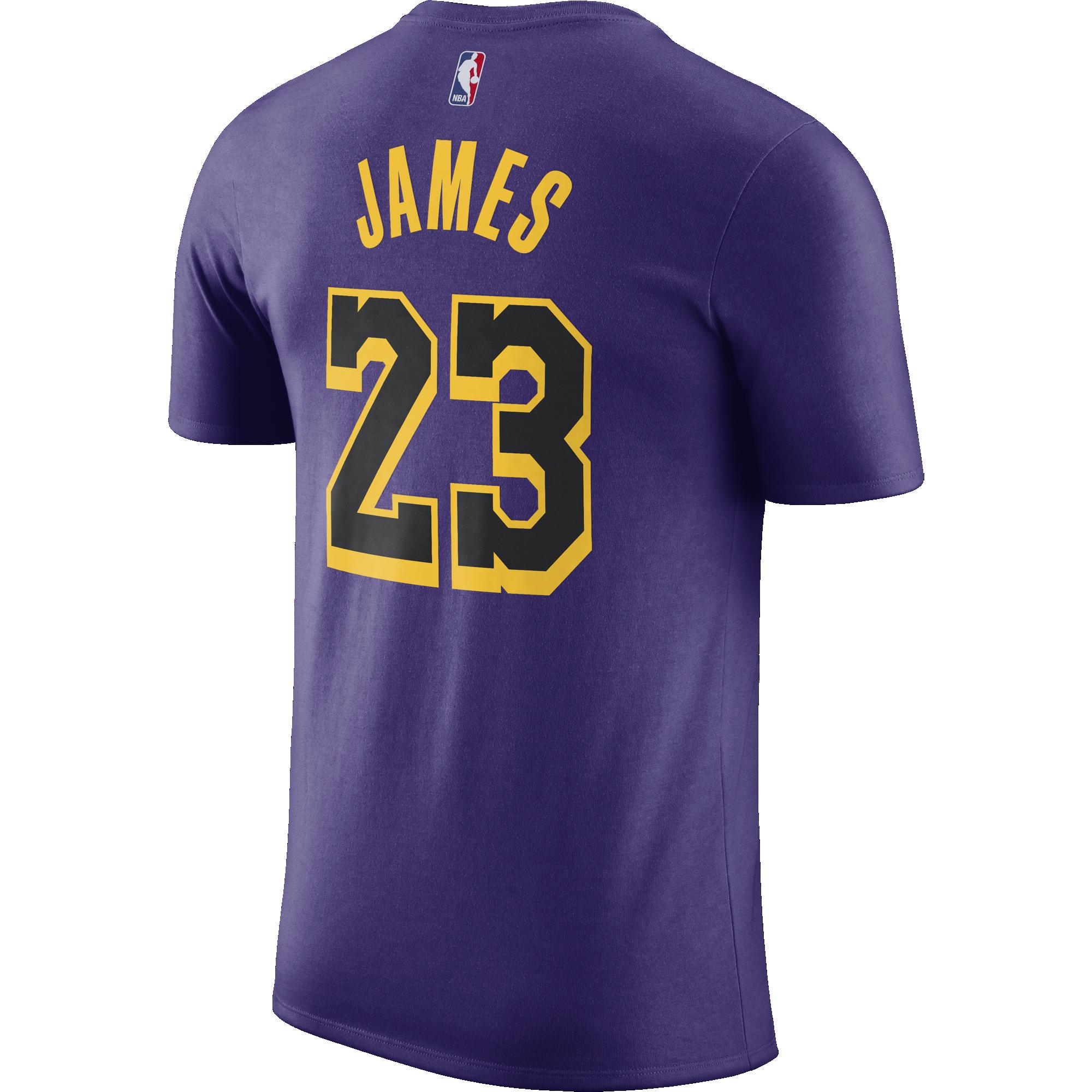 3d04ef4397b NIKE NBA LOS ANGELES LAKERS LEBRON JAMES DRY TEE for £30.00 ...