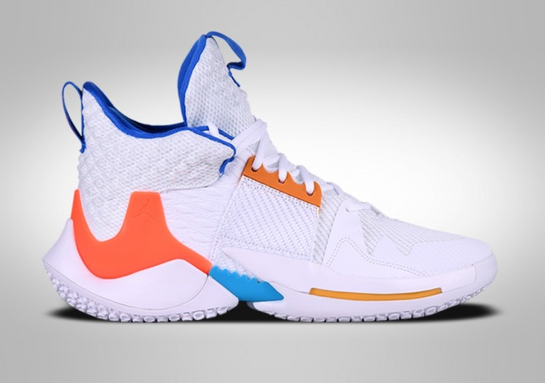 NIKE AIR JORDAN WHY NOT ZERO.2 OKC HOME R. WESTBROOK