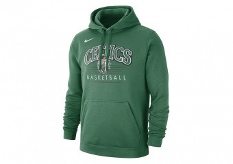 NIKE NBA BOSTON CELTICS CREST HOODY CLOVER