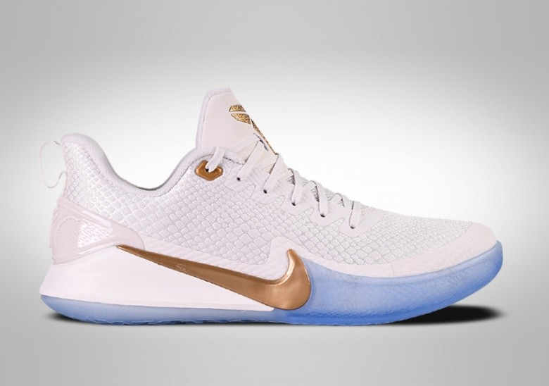NIKE KOBE MAMBA FOCUS METALLIC GOLD