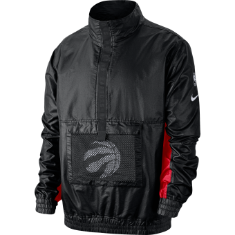 NIKE NBA TORONTO RAPTORS LIGHTWEIGT COURTSIDE JACKET