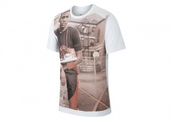 NIKE AIR JORDAN AJ1 PHOTO CREW TEE WHITE