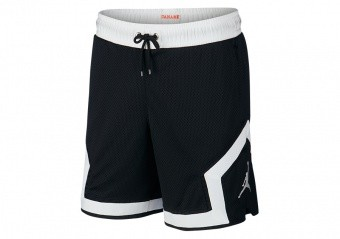 NIKE AIR JORDAN PSG PARIS SAINT-GERMAIN DIAMOND SHORTS BLACK
