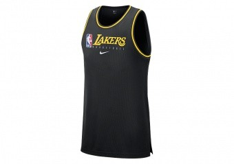 NIKE NBA LOS ANGELES LAKERS DRY TANK BLACK