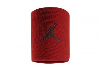 NIKE AIR JORDAN JUMPMAN WRISTBANDS GYM RED