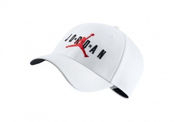 NIKE AIR JORDAN LEGACY91 JUMPMAN AIR HAT WHITE