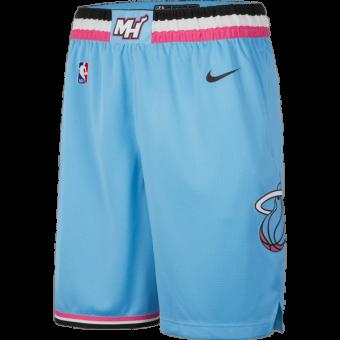 NIKE NBA MIAMI HEAT CITY EDITION LOGO HOODIE BLACK per €65