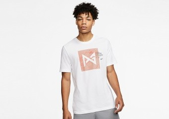 NIKE PG DRI-FIT TEE WHITE