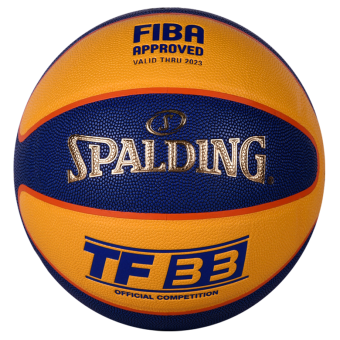 SPALDING TF33 OFFICIAL 3X3 COMPETITION GAME BALL IN (SIZE 6)
