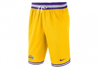 NIKE NBA LOS ANGELES LAKERS DNA SHORTS AMARILLO