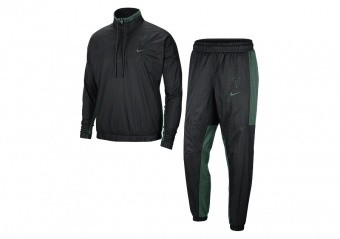 NIKE NBA MILWAUKEE BUCKS TRACKSUIT BLACK